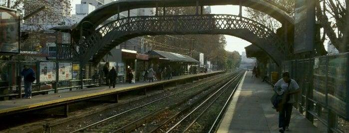 Estación Colegiales [Línea Mitre] is one of Estaciones Tren Linea Mitre J.L. Suarez.