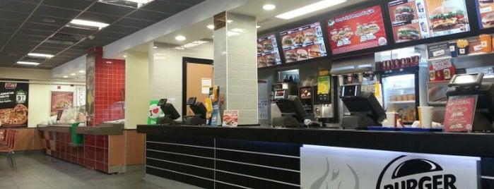 Burger King is one of Mustafa'nın Beğendiği Mekanlar.