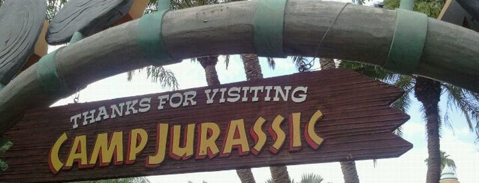 Camp Jurassic is one of My vacation @Orlando.