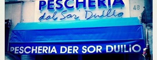Pescheria Dal Sor Duilio is one of Mangiare a Roma.