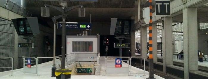 RER Aéroport Charles de Gaulle 2 TGV [B] is one of Paris: husband's hometown ♥.
