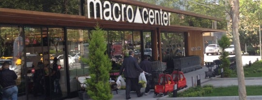 Macrocenter is one of Lieux qui ont plu à Meric.