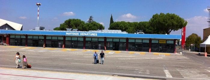 """Aeroporto di Forlì """"Luigi Ridolfi"""" (FRL) is one of Aeroporti Italiani - Italian Airports."""