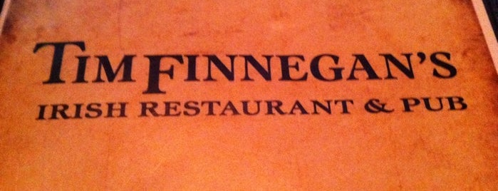 Tim Finnegan's Irish Pub is one of Drinks.