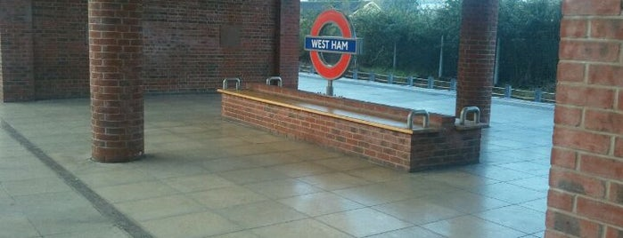 West Ham Railway Station (WEH) is one of Underground Stations in London.