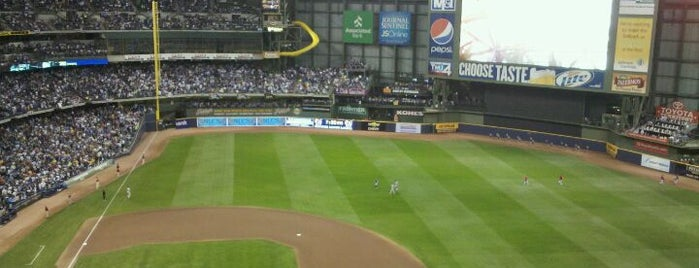 Miller Park is one of Great Sport Locations Across United States.