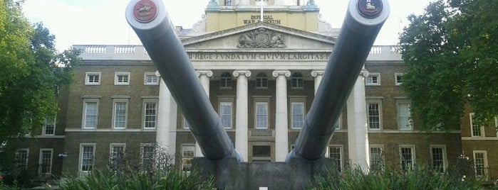 Imperial War Museum is one of blighty sights.