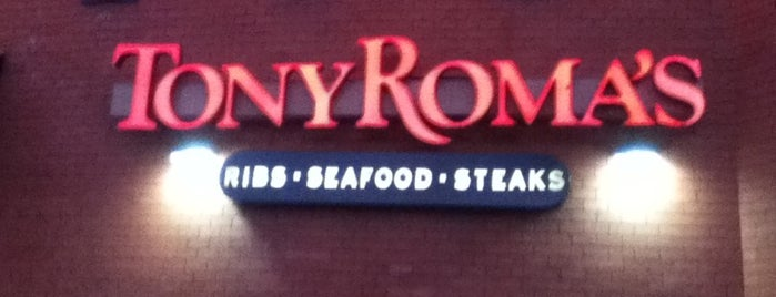 Tony Roma's Ribs, Seafood, & Steaks is one of Tempat yang Disimpan Kevin.