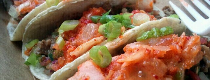 Kimchi Taco Truck is one of Our Favorite Food Trucks!.