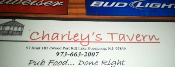 Charley's Tavern is one of NJ Must Visit.
