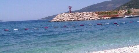 Kalkan Beach is one of KAŞ.
