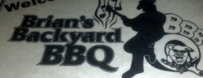 Brian's Backyard BBQ is one of Michelle'nin Kaydettiği Mekanlar.