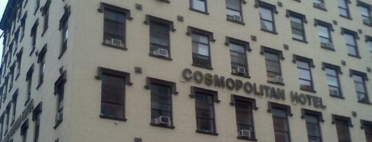 Cosmopolitan Hotel - TriBeCa is one of Food NYC.