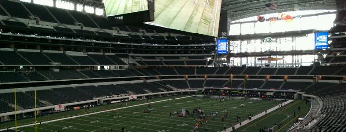 AT&T Stadium is one of Stadiums Visited.