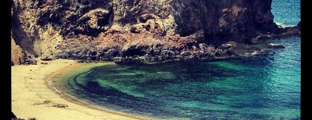 Playa de Papagayo is one of Qué visitar en Lanzarote.