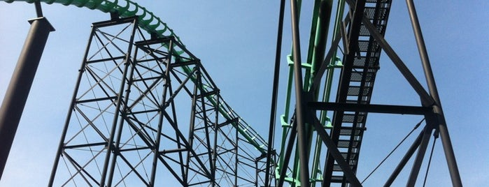 Phantom's Revenge is one of National Rollercoaster Roundup.
