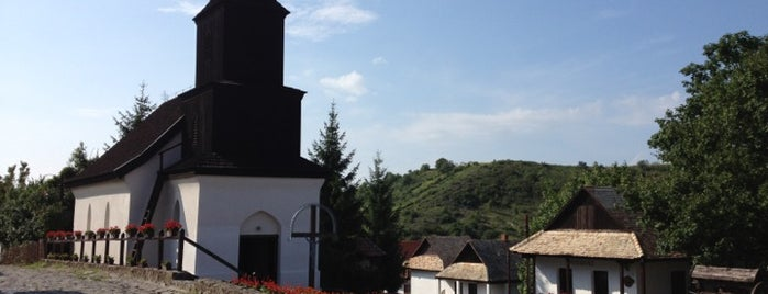 Hollókő is one of UNESCO World Heritage Sites in Eastern Europe.