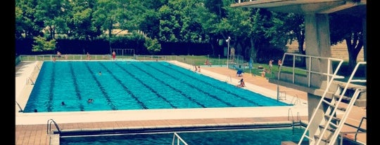 Piscina Complutense is one of Redescubrir madrid.
