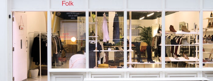 Folk Clothing is one of London.