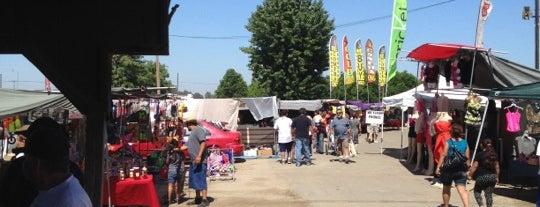 Flea Market is one of Tulare-Visalia Highlights.