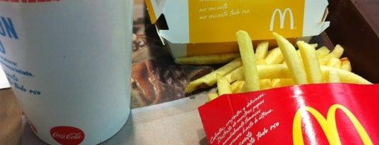 McDonald's is one of Lieux qui ont plu à Christian.