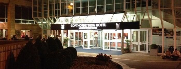 The Copthorne Tara Hotel is one of Lugares favoritos de Harold.
