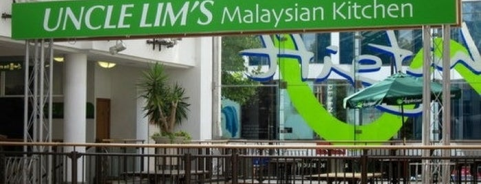Uncle Lim's Malaysian Kitchen is one of Makan!: Quest for Malaysian Food in UK.
