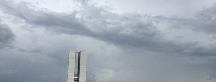 Congresso Nacional is one of Brasília.