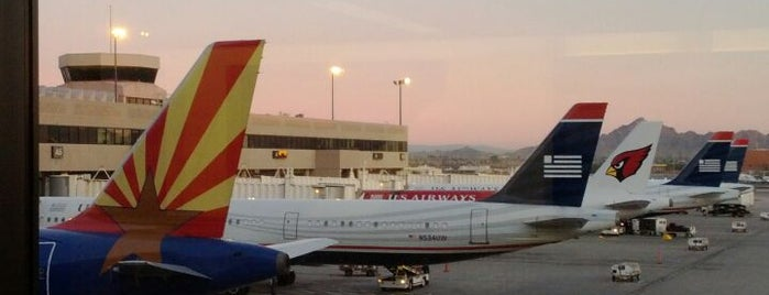 Phoenix Sky Harbor International Airport (PHX) is one of Big Country's Airport Adventures.