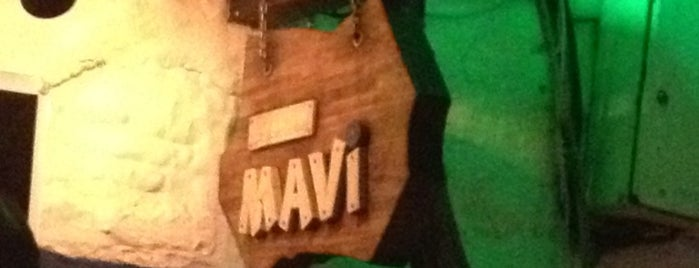 Mavi is one of Bodrums' populars.