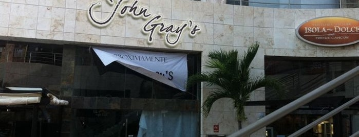 John Gray's is one of Cancun Gourmet Premium Members.