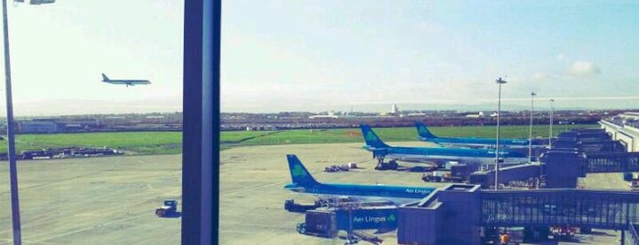 Flughafen Dublin (DUB) is one of Airports around the World.