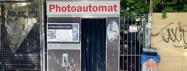 Photoautomat   Photo Booth is one of Berlin.