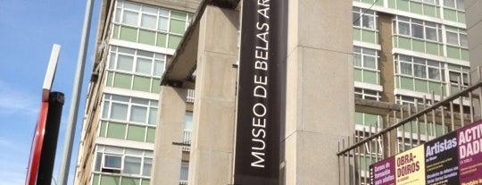 Museo de Belas Artes da Coruña is one of สถานที่ที่ Miguel ถูกใจ.