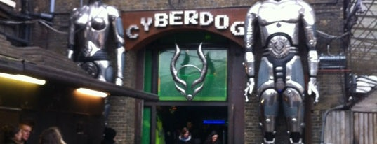Cyberdog is one of London Essentials.