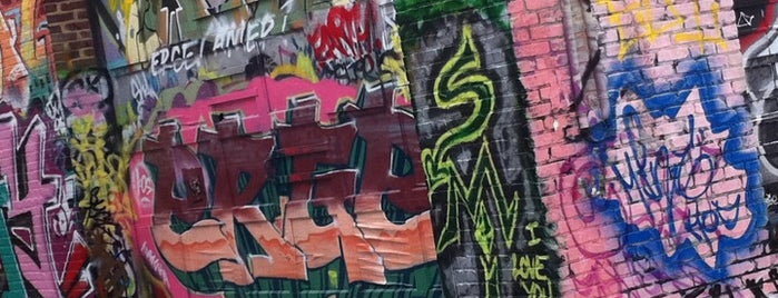 Graffiti Alley is one of Music Arts & Culture.