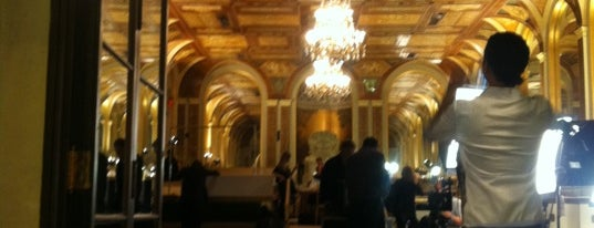 The Oak Room at The Plaza Hotel is one of Impeccable Taste..