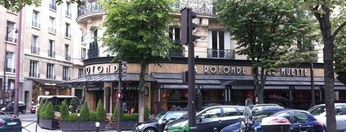 La Rotonde de la Muette is one of Paris Good for Work.