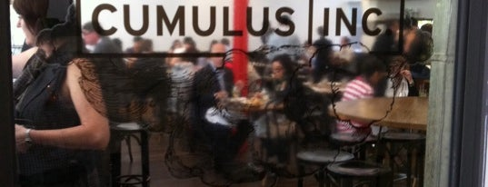 Cumulus Inc. is one of Eat @ Melbourne.