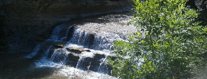Chalk Ridge Falls Park is one of To Do List.