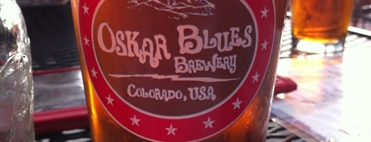 Oskar Blues Home Made Liquids & Solids is one of Best Places to Check out in United States Pt 6.