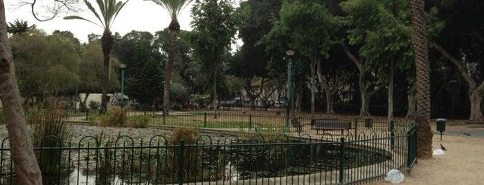 Gan Meir is one of We Love Tel Aviv!  #4sqCities.