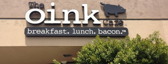 The Oink Café is one of Food & Drink.