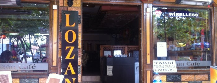 Lozan Cafe is one of Edirne.