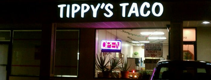 Tippy's Taco House is one of Mimi: сохраненные места.