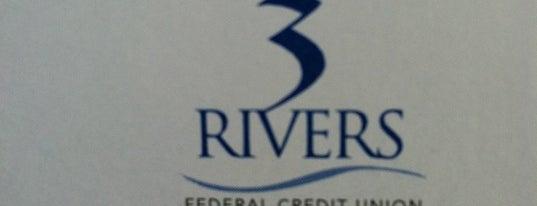 Three Rivers Federal Credit Union is one of Andrew'in Beğendiği Mekanlar.