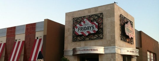 T.G.I. Friday's is one of Tempat yang Disukai Adrian.