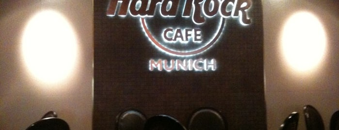 Hard Rock Cafe Munich is one of Munich / Germany.