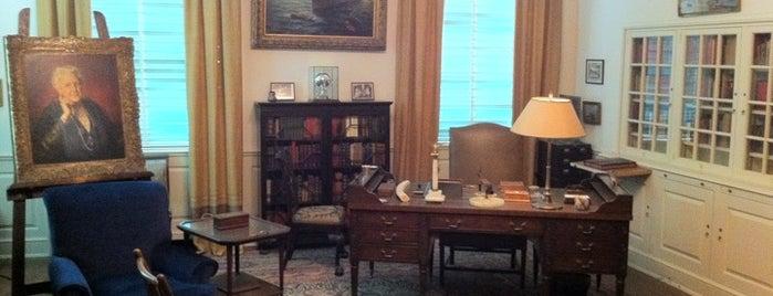 Franklin D. Roosevelt Presidential Library & Museum is one of Mr. President, Mr. President....