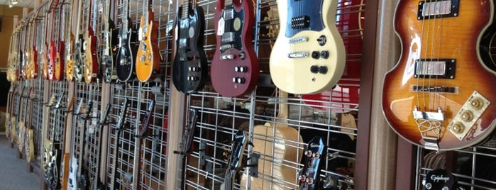 Gibson Guitar Company is one of Mind-blowing Memphis Music.